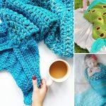 Magical Crochet Mermaid Cocoon Ideas