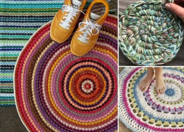 Beautiful Comfortable Crochet Rugs