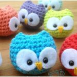 Baby Owl Crochet Toy.