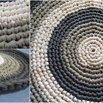 T- Shirt Yarn Round Rug [Free Pattern]