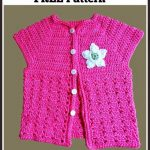 Short Sleeved Cardigan for Toddlers