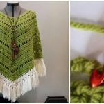 Crochet Boho Poncho
