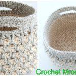 Crochet Maroccan Basket
