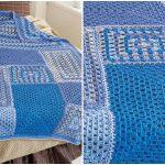 Crochet Angles Throw crochet [Easy Pattern]