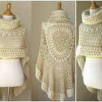 Miracle Angel Crochet Poncho Scarf Free