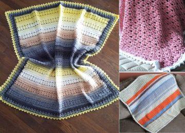 Sweet Lace Crochet Blankets