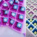 Gorgeous Mitered Crochet Blanket Ideas