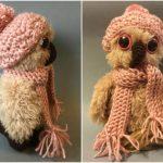 Wintery Cozy Owl – Free Crochet Pattern