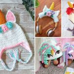 Sweet Crochet Unicorn Hat Patterns