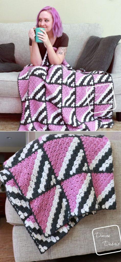 Neapolitan C2C Blanket