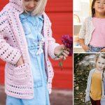 Beautiful Crochet Cardigans For Children