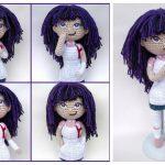 Mikan Tsumiki Doll Free Crochet Pattern