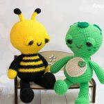 SOFT & DREAMY BEE Amigurumi Free Pattern