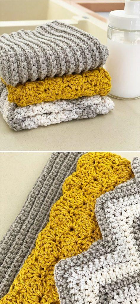11.Textured Dishcloth x 3jpg