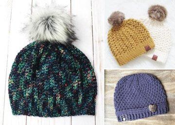 Crochet Beanies for Beginners Free Crochet Pattern