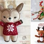 Holiday Crochet Deer Pattern Ideas