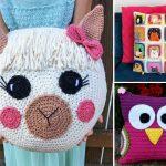 Kids' Room Crochet Pillows
