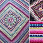 Around the Bases Crochet Throw