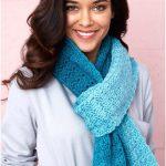 Cici's Ombre Super Crochet Scarf