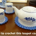 Easy Crochet a Teapot Coaster