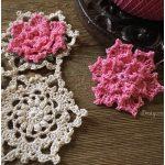 Talandra's Rose Crochet Doily