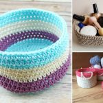 Crochet Baskets Perfect For Storage