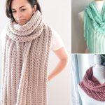 Beautiful Lacy Crochet Scarves