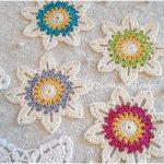 Easy Crochet Flower Motif for Beginners