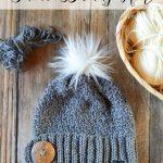 Snow Bunny Crochet Hat
