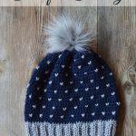 Snowfall Crochet Slouchy Hat