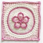The Fab5Flower Crochet Square