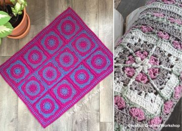 Adorable Crochet Baby Blankets
