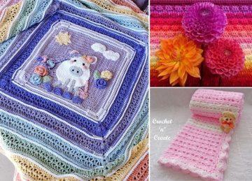 Sweetheart Crochet Blankets Free Crochet Pattern