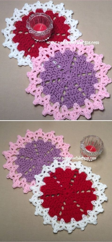Little Valentine Doily