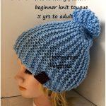 Beginner Touque Free Knitting Pattern