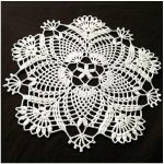 Bloom Crochet Doily with Free Pattern