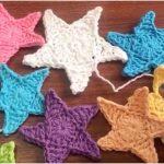 Christmas Crochet Stars with Free Tutorial