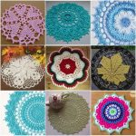 Decorative Crochet Doilies Collection with Free Patterns