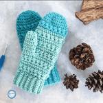 Frozen Fingers Crochet Mittens Free Pattern