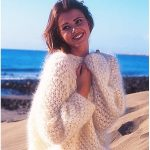 Neige Knitting Sweater in Vienna with Free Pattern