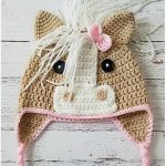 The Callie Horse Crochet Hat with Free Pattern
