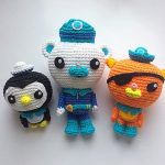 The Octonauts Amigurumi with Free Patterns
