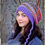Waves of Warm with Slouchy Crochet Hat