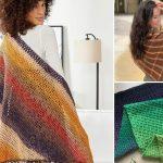 Lovely Colorful Feminine Crochet Shawl Ideas