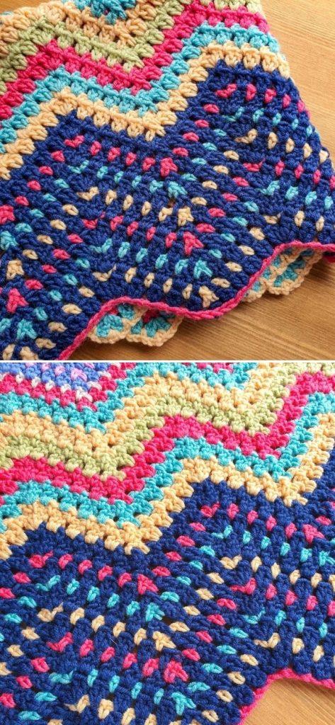 Mini Ripple Block Stitch