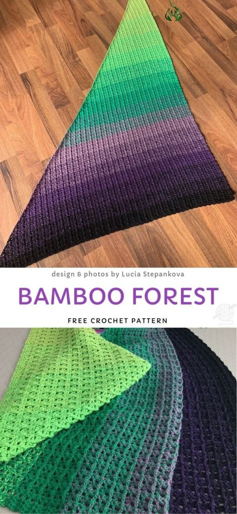 Bamboo Forest Free Crochet Pattern