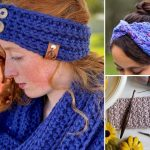 Comfy Crochet Ear Warmers For Cold Days