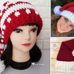 Crochet Santa Hats for Christmas