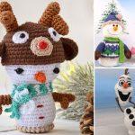 Free Crochet Pattern Snowman Ideas