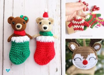 Fun Christmas Crochet Ornaments